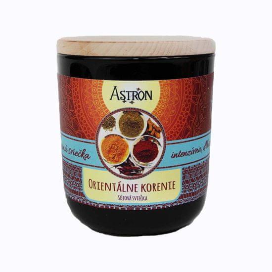 Astron Orientálne korenie – sójová vonná sviečka, 190 g