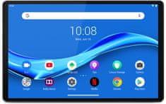 Lenovo Tab M10 Plus, 4GB/64GB, Wi-Fi, Platinum Grey (ZA5T0421CZ) + pouzdro s fólií