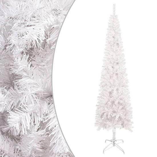 shumee Smukła choinka, biała, 180 cm