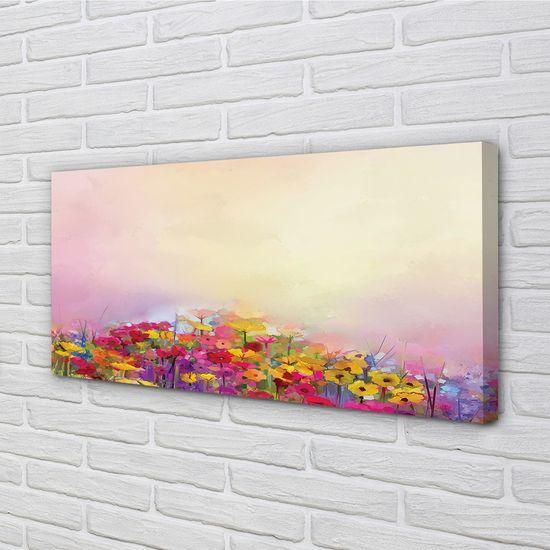 tulup.si Slika na platnu Slika rože nebo