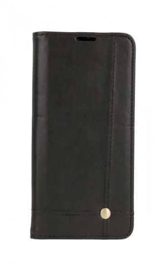 TopQ Puzdro Xiaomi Redmi Note 10S Flipové Prestige Book čierne 61539