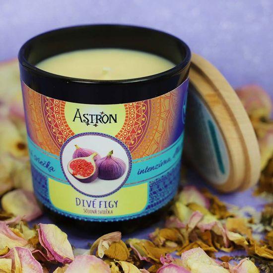 Astron Divé figy – sójová vonná sviečka, 190 g