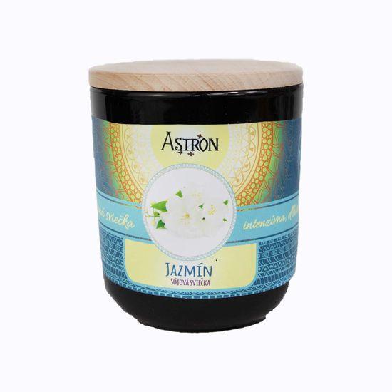 Astron Jazmín – sójová vonná sviečka, 190 g