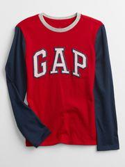 Gap Dětské tričko Logo long sleeve t-shirt M