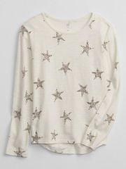 Gap Dětské tričko s hvězdičkami XXL