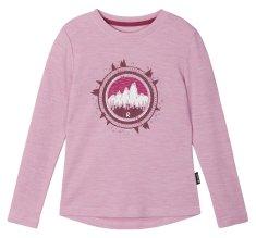 Reima 536624-4550 Viluton dekliška termo majica, roza, 122