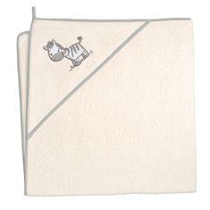 CEBA ręcznik z kapturem frotte 100 x 100 Zebra Creamy