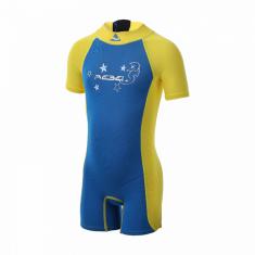 SUB GEAR Detský neoprén SEAHORSE - VÝPREDAJ modrá 122 6/7 rokov modrá/žltá