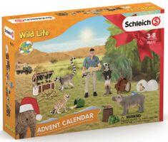 Schleich Adventní kalendář 2021 - Africká zvířata