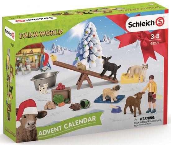Schleich Adventní kalendář 2021 - Domácí zvířata