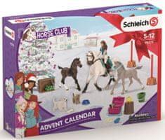 Schleich Adventní kalendář 2021 - Koně