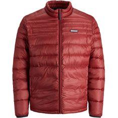Jack&Jones Moška jakna JJEACE 12189878 Red Dahlia (Velikost XL)