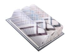 Etex Hořice s.r.o.Pánské kapesníky M14 světlé dárková krabička - 3ks