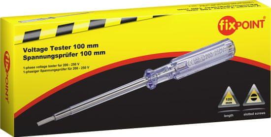 Fixpoint 1-fázový tester napätia pre napätie 200 V až 250 V, 190mm.; 77010