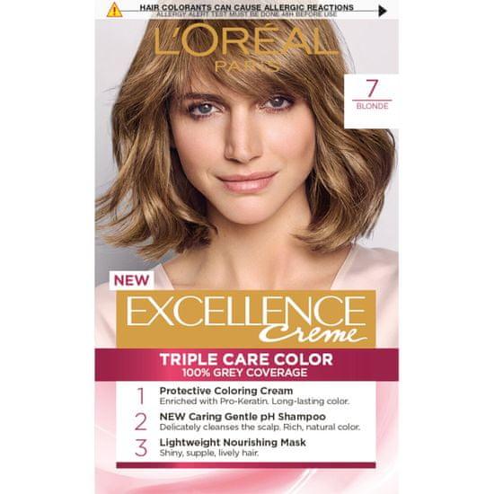 Loreal Paris boja za kosu Excellence, 7 Blonde