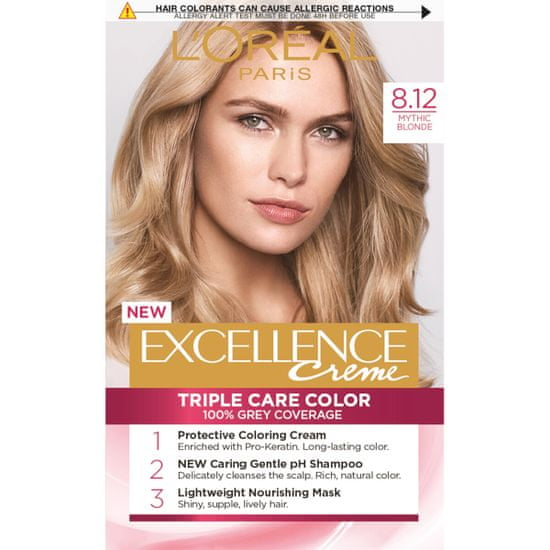 Loreal Paris boja za kosu Excellence, 8.12 Mythic Blonde