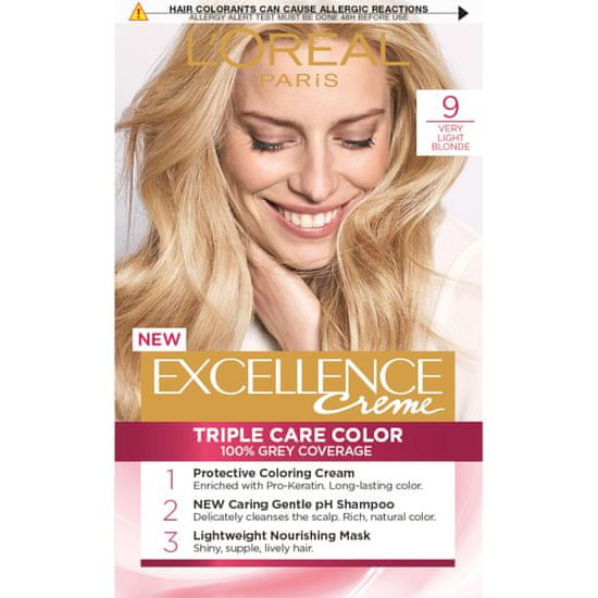 Loreal Paris boja za kosu Excellence, 9 Very Light Blonde
