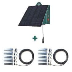 Irrigatia Solárne automatické zavlažovanie SOL-C24L s rozširujúcou sadou 15T-12D