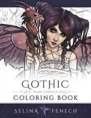 Gothic - Dark Fantasy Coloring Book