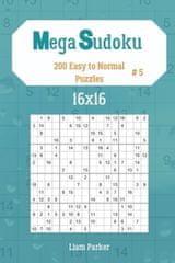 Mega Sudoku 16x16 - 200 Easy to Normal Puzzles vol.5