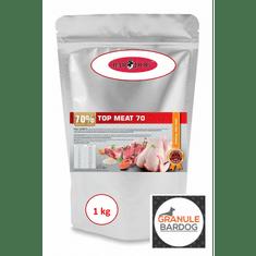 Bardog Lisované granule za studena Top Meat 70 1 kg