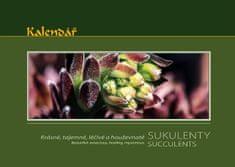 TYRKYS Nástěnný kalendář - Krásné, tajemné, léčivé, houževnaté sukulenty
