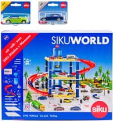 SIKU World Garáž se 2 auty