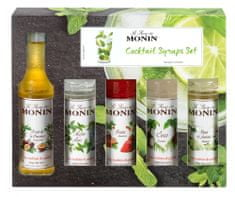 MONIN Cocktail box MINI 5 x 0,05 l