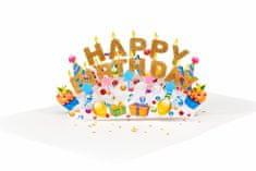 Magic Moments 3D přání Krásné narozeniny