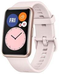 Huawei Watch Fit aktivitásmérő, Pink