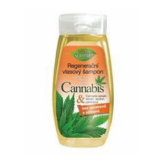 Bione Cosmetics Regenerační výživný šampon Cannabis 260 ml