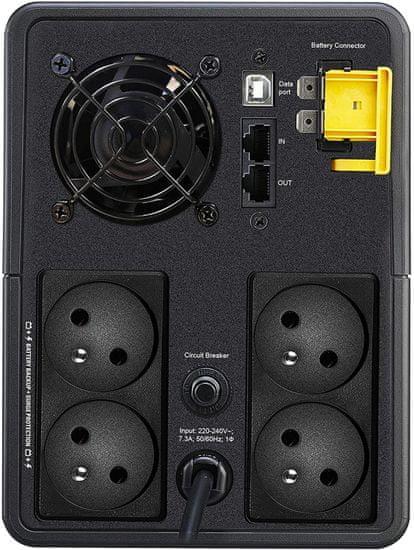 APC Back-UPS 1600VA, 900W, FR (BX1600MI-FR)