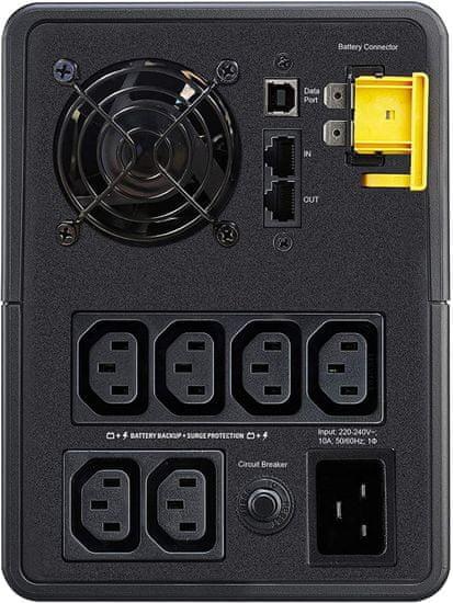 APC Back-UPS 2200VA, 1200W (BX2200MI)