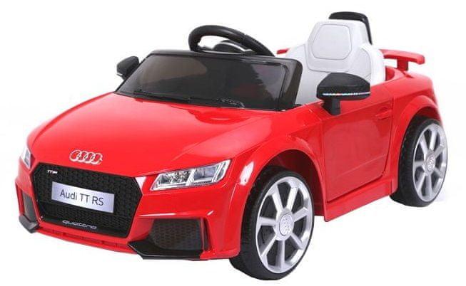 Eljet Dětské elektrické auto Audi TT RS červená