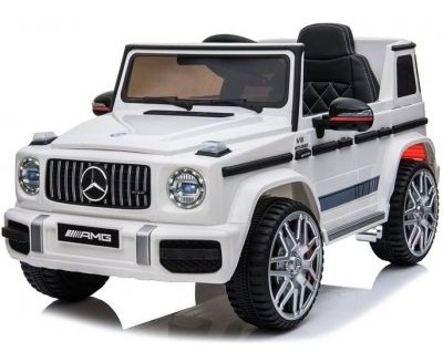 Eljet Dětské elektrické auto Mercedes G63 AMG bílá
