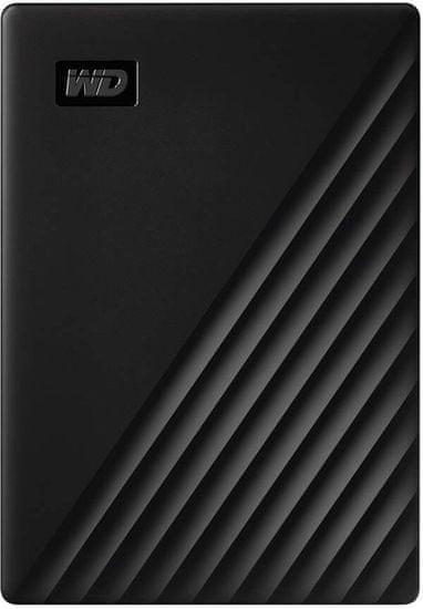 Western Digital WD My Passport - 5TB WDBPKJ0050BBK-WESN, čierna