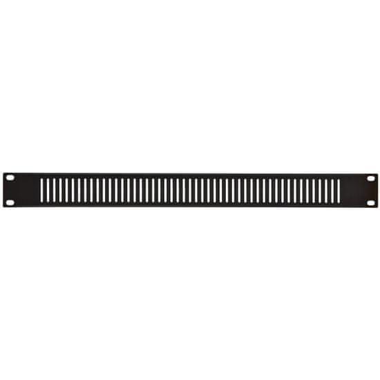 """Adastra zaslepovací panel do racku s ventilací, 19"""", 1U"""