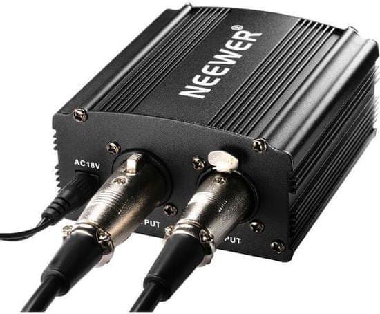 Neewer Fantómový sieťový napájač mikrofónu