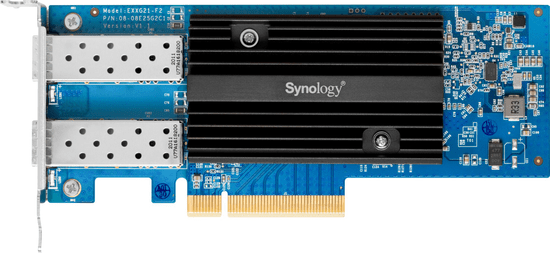 Synology LAN karta 2x10Gb SFP+, PCIe
