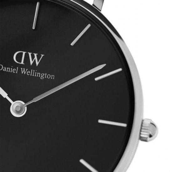 Daniel Wellington CLASSIC PETITE STERLING/SILVER/BLACK DW00100162