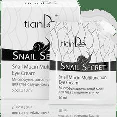 TianDe  Krém na oči s mucinem hlemýžďů 5 ks po 10 ml