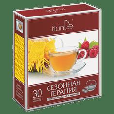 TianDe  Bylinná směs s lípou, lékořicí a malinou 30 čaj. sáčků