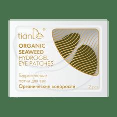TianDe  Hydrogelové polštářky pro oční víčka Organické řasy 2ks