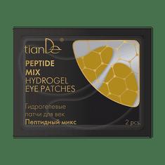 TianDe  Hydrogelové polštářky na oční víčka Mix peptidů 2 ks