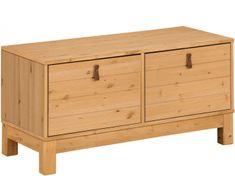 Danish Style Úložná lavice Lous, 88 cm, přírodní dřevo