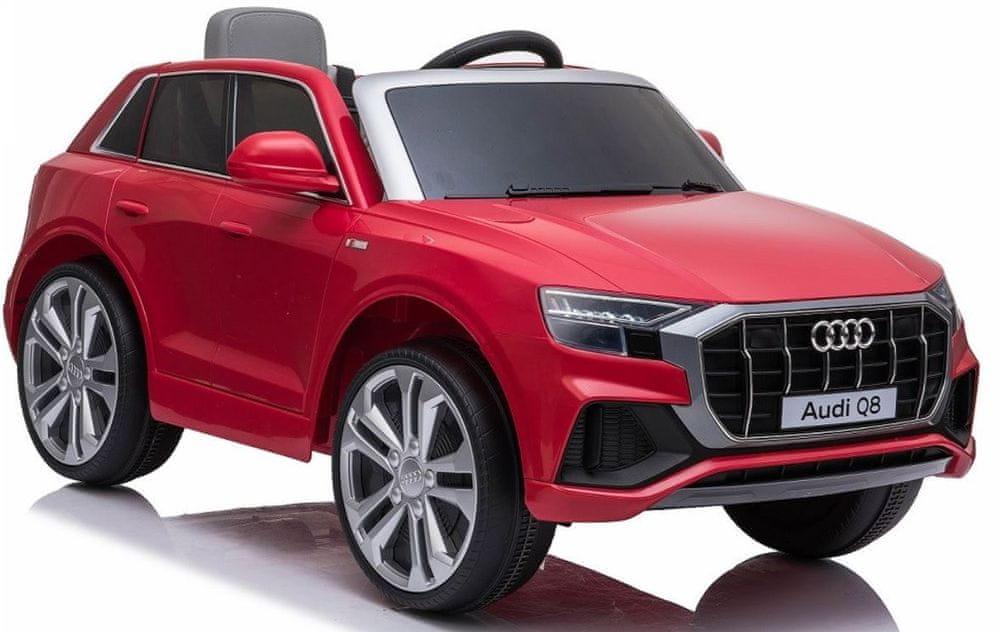 Eljet Dětské elektrické auto Audi Q8 červená