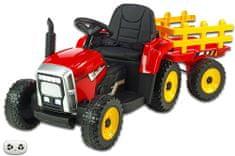 Eljet Dětské elektrické auto John Deere Tractor Lite - červená