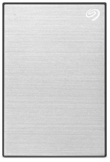 Seagate One Touch Portable - 4TB STKC4000401, strieborná
