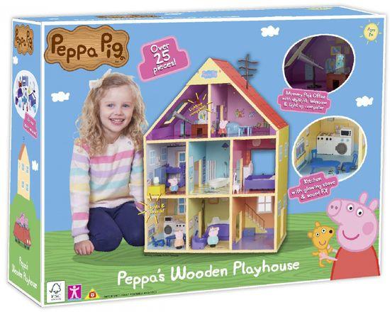 TM Toys Peppa Malac nagy faház fénnyel és hanggal