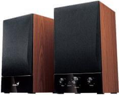 Genius SP-HF 1250B Ver. II, 2.0, dřevěné 31730011400